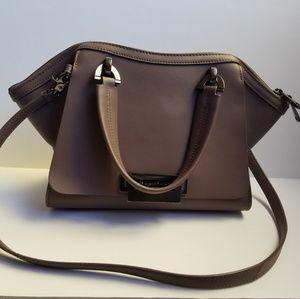 Zac Posen Eartha Leather Double Handle Bag